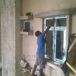 Window Doors Aluminum,Pvc Window Door , Office Partition, | Building & Trades Services for sale in Lagos State, Alimosho