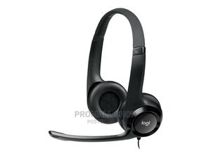 Logitech H390 USB Headset With Noise-Cancelling Mic | Headphones for sale in Lagos State, Ikeja