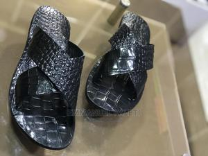 Black Cross Slippers Palm   Shoes for sale in Lagos State, Mushin