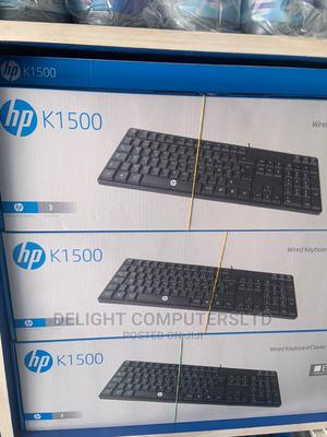HP K1500 Keyboard | Computer Accessories  for sale in Lagos State, Ikeja