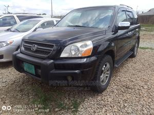 Honda Pilot 2005 EX 4x4 (3.5L 6cyl 5A) Black | Cars for sale in Kaduna State, Kaduna / Kaduna State