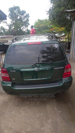 Toyota Highlander 2002 Green | Cars for sale in Cross River State, Calabar