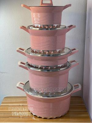 5 Sets Granite Pot | Kitchen & Dining for sale in Lagos State, Surulere