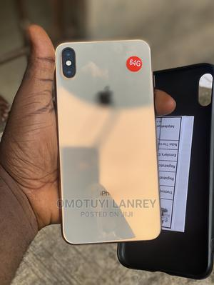 Apple iPhone XS Max 64 GB Gold   Mobile Phones for sale in Ondo State, Akure