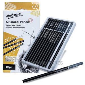 Mont Marte Charcoal Pencil 12pcs   Arts & Crafts for sale in Lagos State, Ajah