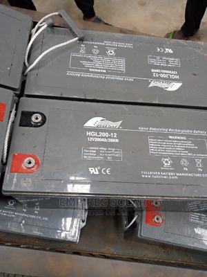 Full River 12v 200ah Battery | Solar Energy for sale in Lagos State, Ikeja