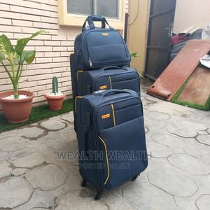 Portable Zippered Leaderpolo Trolley Luggage Blue Bag | Bags for sale in Lagos State, Ikeja