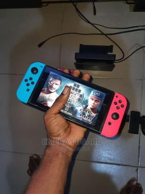 Neathly Used Nintendo Switch With MK11 Caset for Sale   Video Game Consoles for sale in Edo State, Benin City