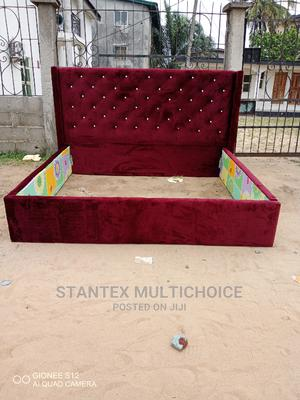 Royal Upholstery Bedframe 6by 6 | Furniture for sale in Lagos State, Lekki