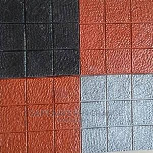 PVC (Rubber) Floor Tiles (Red and Black Colour Variants)   Building Materials for sale in Imo State, Owerri