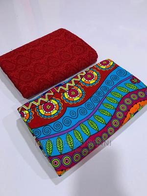 Ankara 3yards 100% Cotton 2yards Lace | Clothing for sale in Oyo State, Ibadan