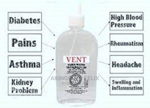 Vent Table Water -Treated With Bio Disc   Vitamins & Supplements for sale in Lagos State, Alimosho