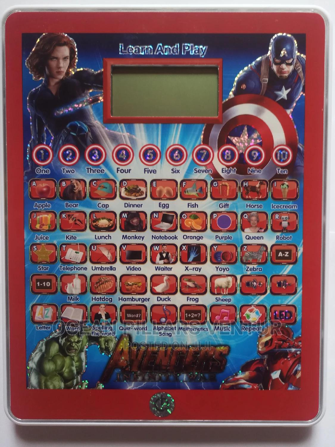 Children Educational Ypad With Screen Display