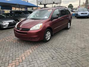 Toyota Sienna 2004 LE FWD (3.3L V6 5A) Red | Cars for sale in Lagos State, Ojodu