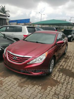Hyundai Sonata 2012 Red   Cars for sale in Lagos State, Ikeja