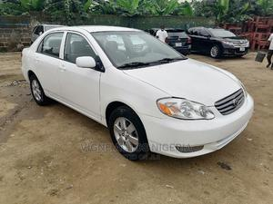 Toyota Corolla 2003 Sedan Automatic White | Cars for sale in Akwa Ibom State, Uyo