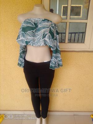 Crop Top and Boyfriend Jean | Clothing for sale in Delta State, Aniocha South
