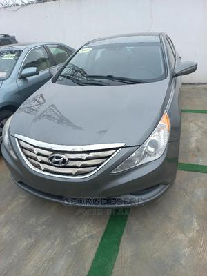 Hyundai Sonata 2013 Gray | Cars for sale in Lagos State, Ilupeju