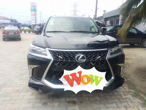 Lexus LX 2012 570 Black | Cars for sale in Lagos State, Ajah