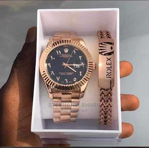 Rolex Unisex Wrist Watch and Bangle   Watches for sale in Rivers State, Obio-Akpor
