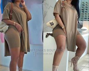 Light Brown Top/Short | Clothing for sale in Lagos State, Oshodi