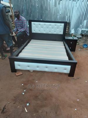 Wooden Bed Frame | Furniture for sale in Lagos State, Ojota