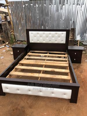 Wooden Bed Frame | Furniture for sale in Lagos State, Yaba