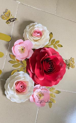 Paper Flowers for Wall Decorations | Arts & Crafts for sale in Lagos State, Ikeja