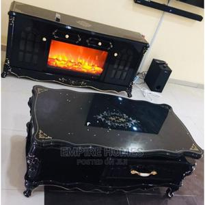 Fireworks TV Stand Shelve With Royal Center Table | Furniture for sale in Lagos State, Ogba