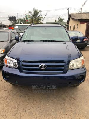 Toyota Highlander 2005 4x4 Blue   Cars for sale in Lagos State, Apapa