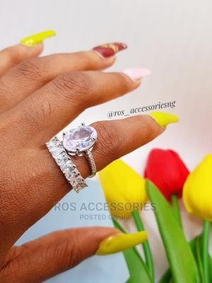 Zirconia Wedding Ring Set   Wedding Wear & Accessories for sale in Delta State, Warri