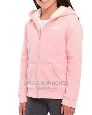 Girls Pink Puma Hoodie   Children's Clothing for sale in Lagos State, Lekki