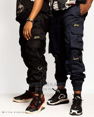 Black Bison Joggers | Clothing for sale in Imo State, Owerri