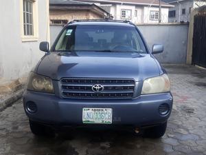Toyota Highlander 2004 V6 AWD Blue | Cars for sale in Lagos State, Ajah