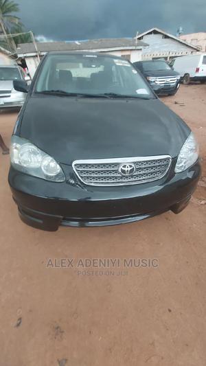 Toyota Corolla 2007 Black   Cars for sale in Lagos State, Ikotun/Igando