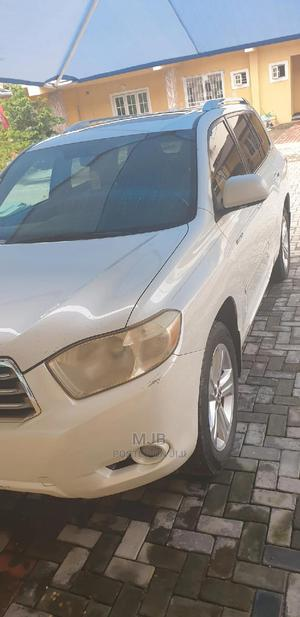 Toyota Highlander 2008 Limited White | Cars for sale in Lagos State, Ajah