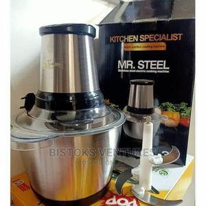 MR STEEL 3lt Food Processor/Yam Pounder/Meat Grinder | Kitchen Appliances for sale in Lagos State, Lagos Island (Eko)