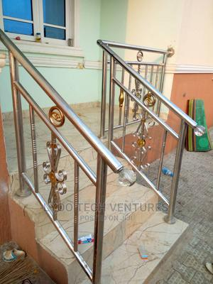 Stainless Hand Rails 50mm   Building Materials for sale in Abuja (FCT) State, Dei-Dei