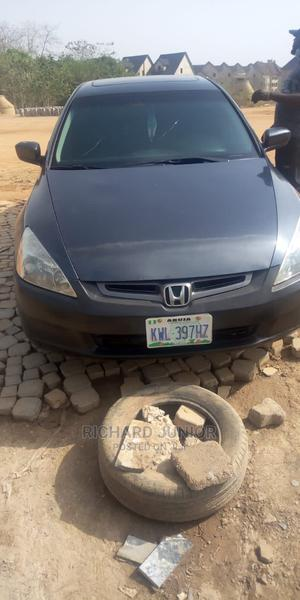 Honda Accord 2005 Sedan LX V6 Automatic Gray | Cars for sale in Abuja (FCT) State, Central Business Dis