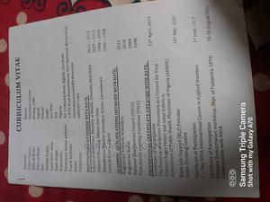 Healthcare Nursing CV | Healthcare & Nursing CVs for sale in Imo State, Oru