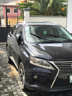 Lexus RX 2012 350 FWD Black | Cars for sale in Lagos State, Magodo