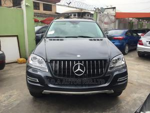 Mercedes-Benz M Class 2011 ML 350 4Matic Black   Cars for sale in Lagos State, Agege