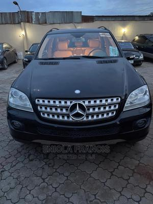 Mercedes-Benz M Class 2008 ML 350 4Matic Black   Cars for sale in Lagos State, Ikeja