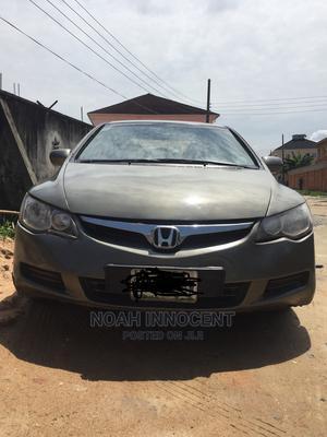 Honda Civic 2008 1.8i VTEC Gray   Cars for sale in Lagos State, Ajah