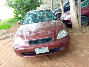 Honda Civic 2000 CX 2dr Hatchback Purple | Cars for sale in Abuja (FCT) State, Lokogoma