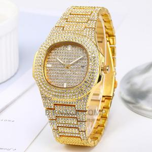 Unisex Stone Wristwatch - Gold   Watches for sale in Imo State, Owerri
