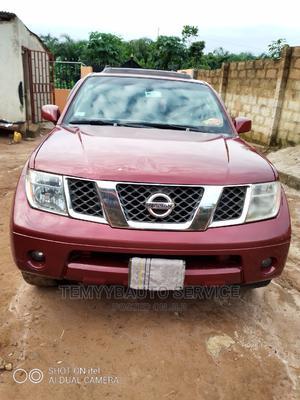 Nissan Pathfinder 2006 SE 4x4 Red   Cars for sale in Ogun State, Ado-Odo/Ota