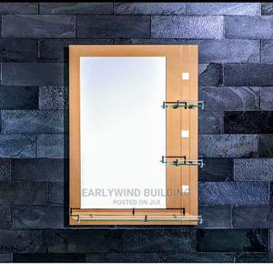 Quality Triple Shelf Wall Mirror | Home Accessories for sale in Abuja (FCT) State, Dei-Dei