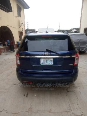 Ford Explorer 2014 EcoBoost AWD (2.0L 4cyl) Blue   Cars for sale in Lagos State, Victoria Island