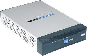 CISCO-RV042G Gigabit Dual WAN VPN 4 PORT Router | Networking Products for sale in Lagos State, Ikeja